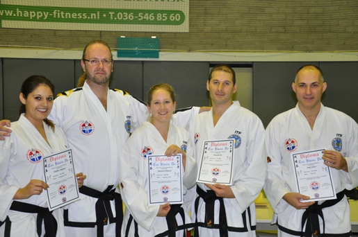 3 keer ITF Taekwon-Do Danhouders_TV Baukdu Nov2012