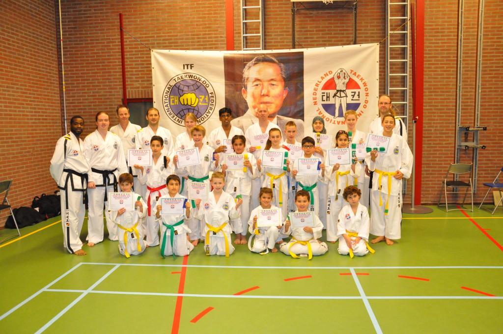Taekwon-Do-examens-bij-Taekwon-Do-Vereniging-Baukdu