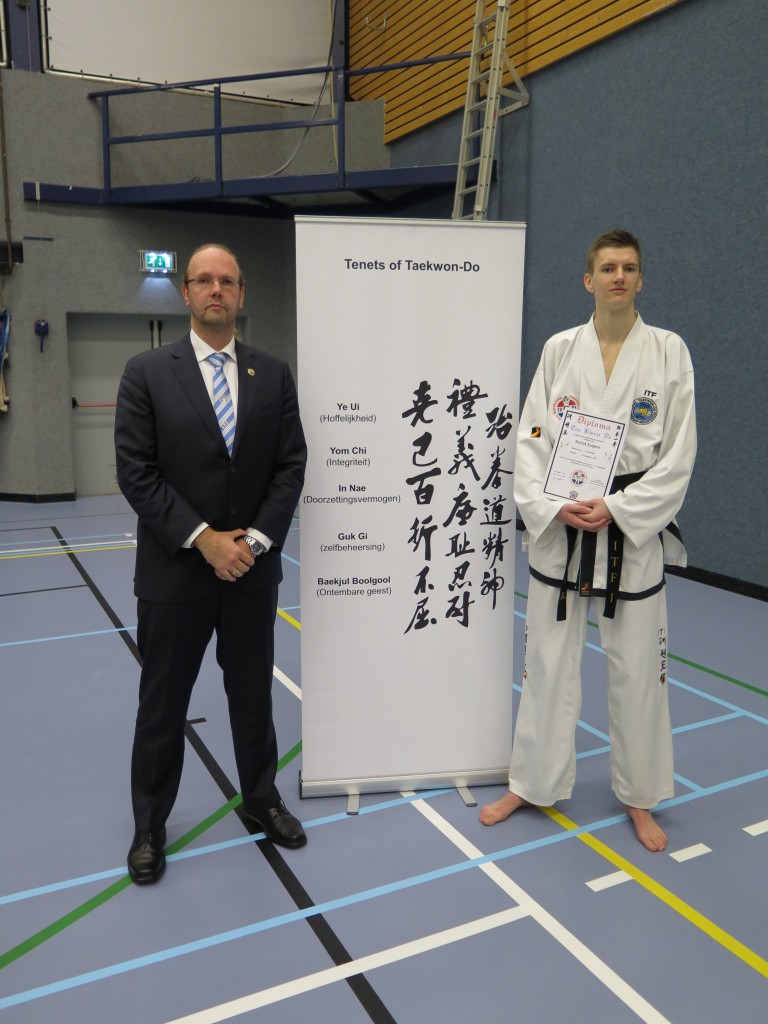 Patrick Kuijpers II Dan ITF Taekwon-Do_TV Baukdu