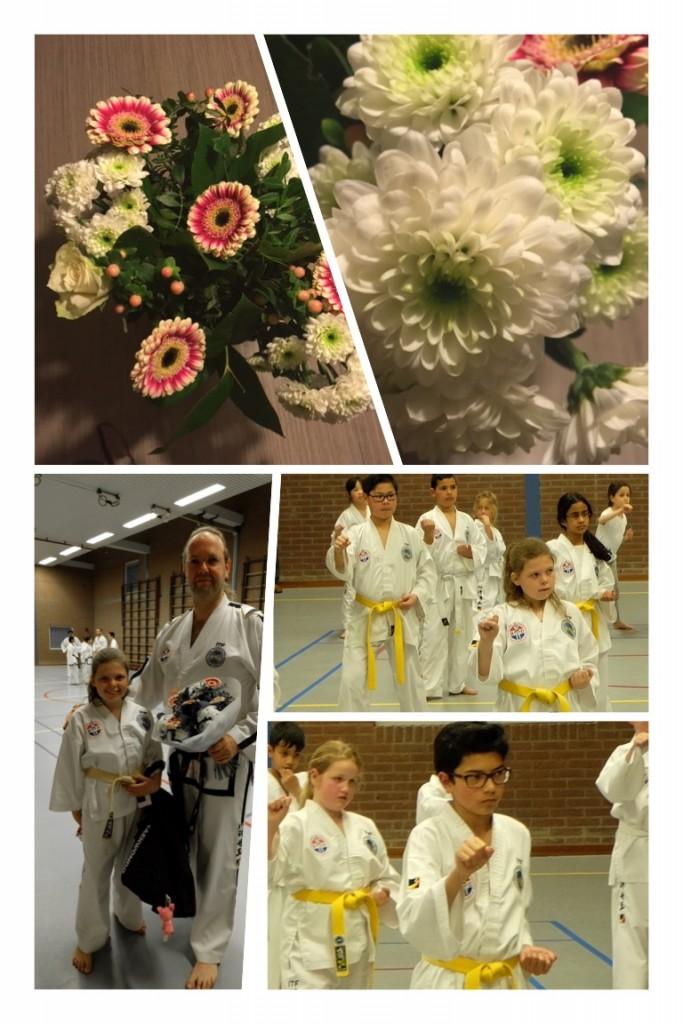 20 jaar Baukdu - bloemen