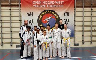 10 ereplaatsen voor Taekwon-Do vereniging Baukdu_ONWV 2017
