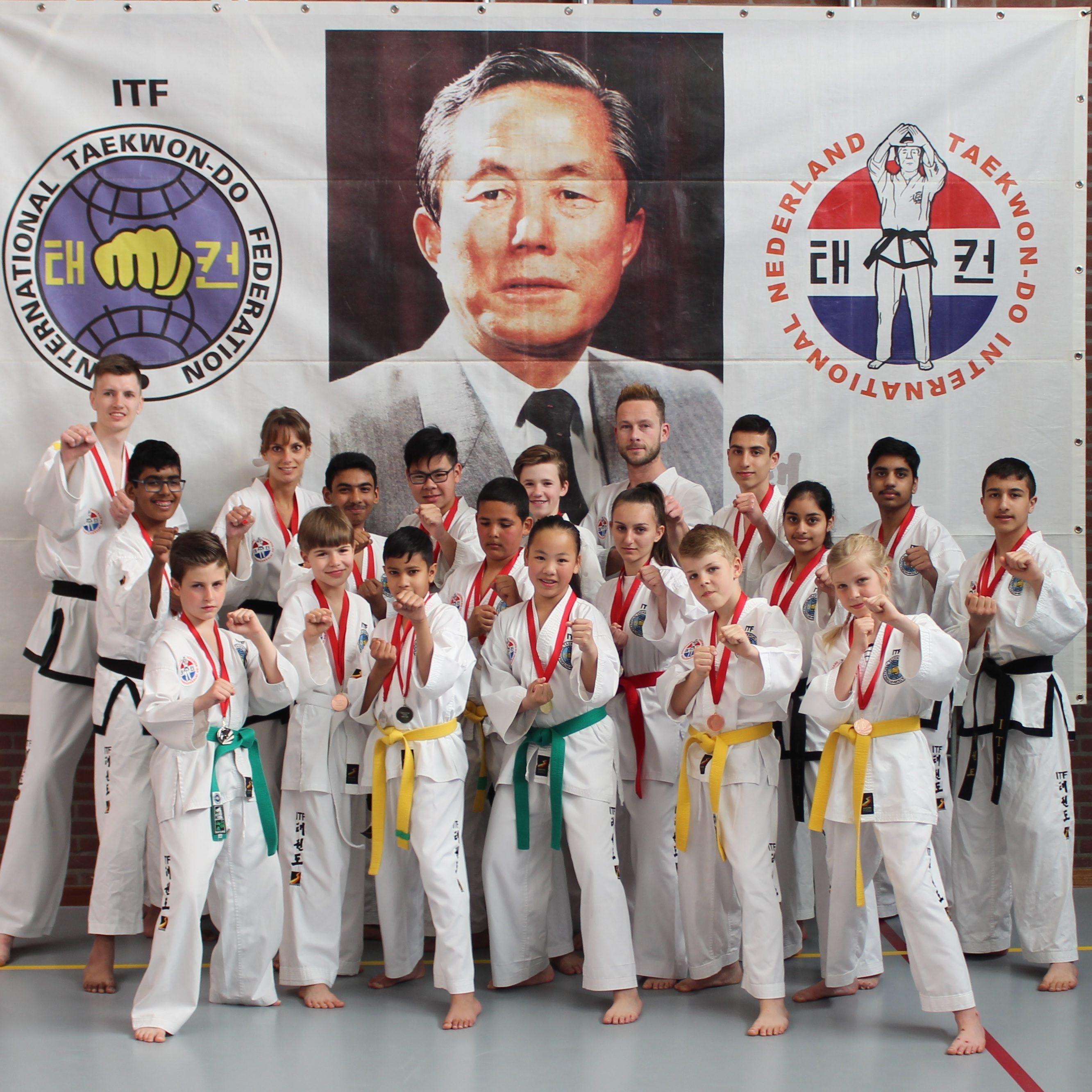 Leslocatie en trainingstijden taekwondo zoetermeer gratis proefles