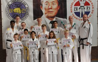 Taekwondo Baukdu Zoetermeer zelfverdedigingssport